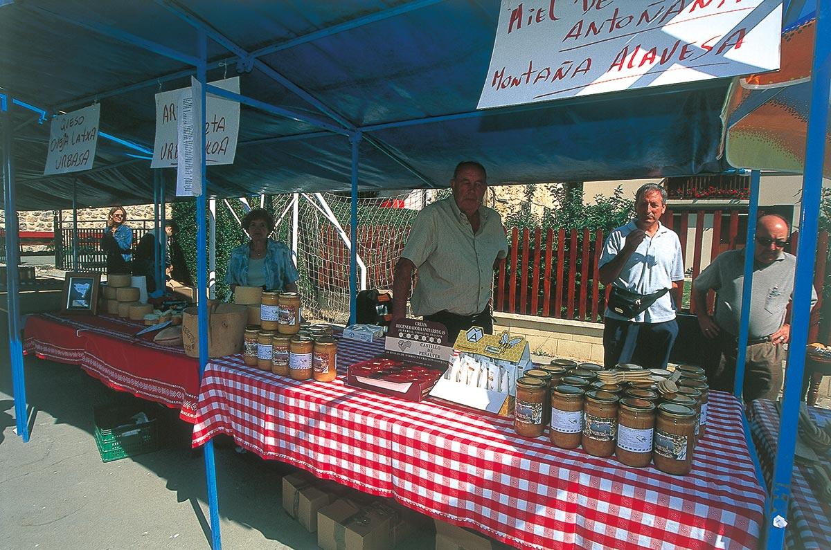 Feria de la miel - Antoñana