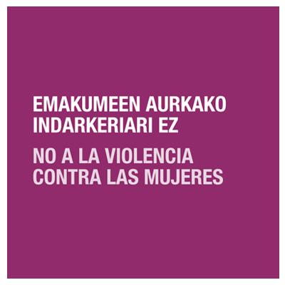 No a la violencia contra las mujeres - Montaña Alavesa