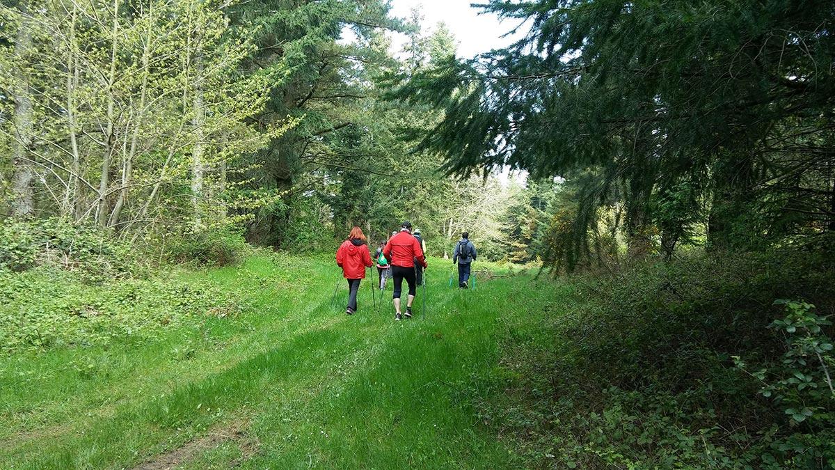 Senderismo y Nordic Walking en Montaña Alavesa