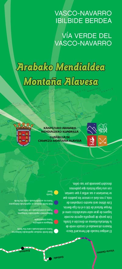 Basque-Navarre Greenway (download brochure)