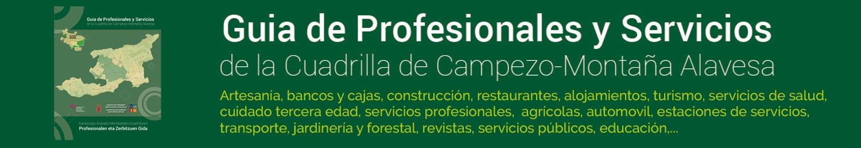 Guia de Profesionales y Servicios de la Cuadrilla de Campezo-Montaña Alavesa