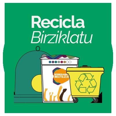 Recicla en Montaña Alavesa